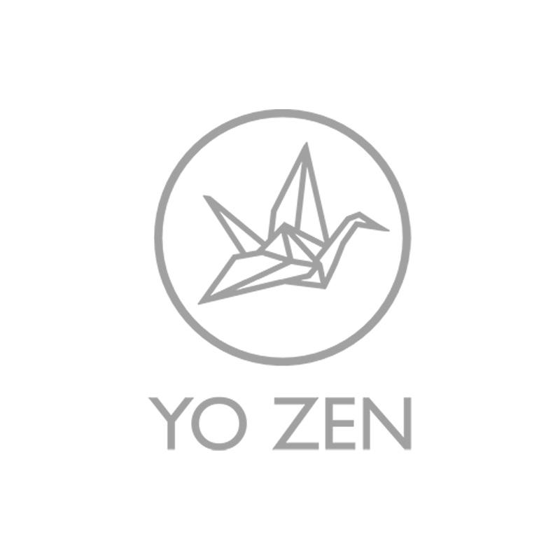 YO ZEN, ORIGAMI Swan cufflinks, kalvosinnapit, mittakuva