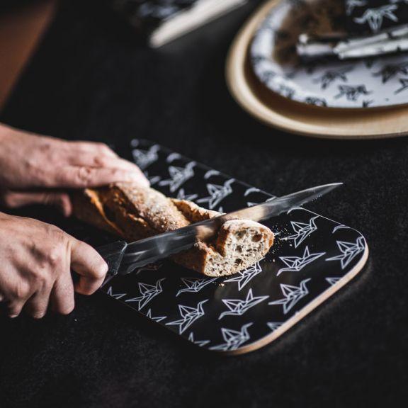 YO ZEN, leikkuulauta, cutting board, origami swan