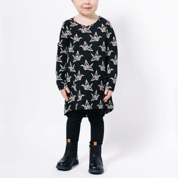 YO ZEN -mekko, musta/luonnonvalkoinen